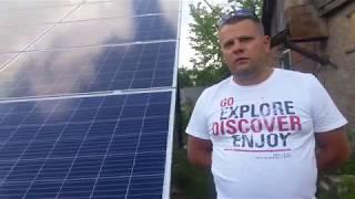 Бизнес под ключ 4 года окупаемости - Солнечная станция 30кВт за 19520$ - solar-v.net полный монтаж