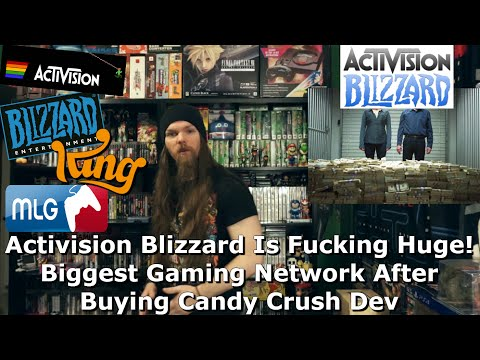 Activision Blizzard Is Fucking Huge! Biggest Gaming Network After Buying Candy Crush Dev