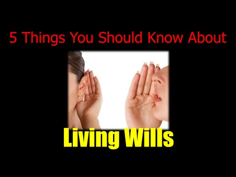 Printable Living Will - 5 Things You Need to Know About a Living Will