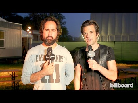 The Killers at Firefly 2015: 'It's Tough to Get 4 Guys Together' to Make Music