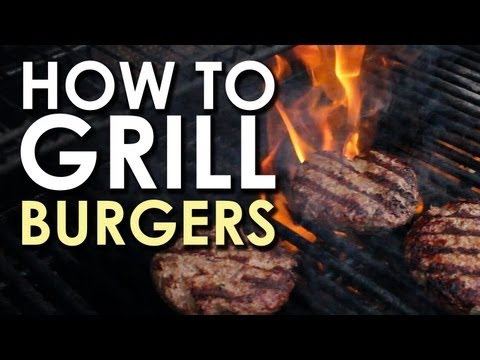 The Art of Grilling: How to Grill a Burger like a pro