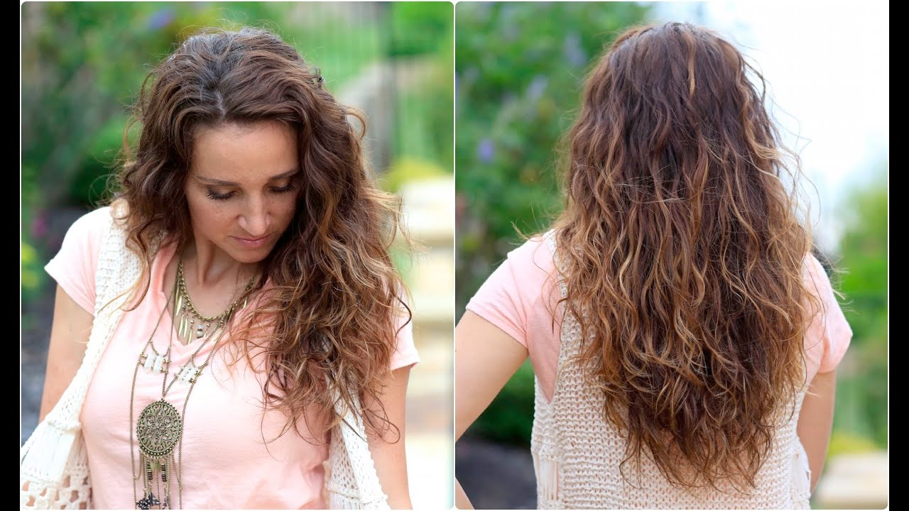 no heat plopping curls back to school hairstyles youtube