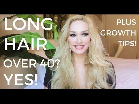 Long Hair Over 40? Yes! Plus Growth Tips
