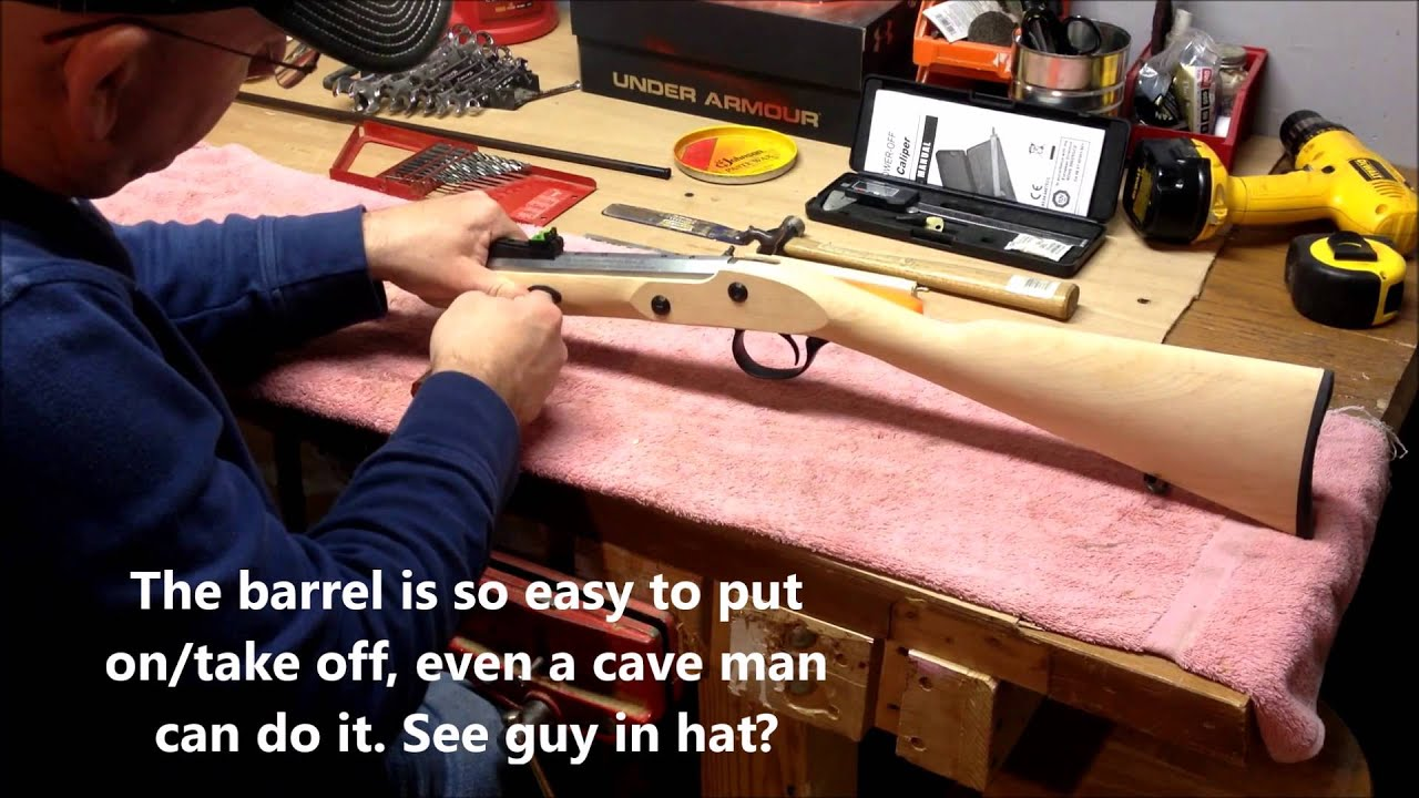 Traditions deerhunter muzzleloader kit review youtube solutioingenieria Gallery