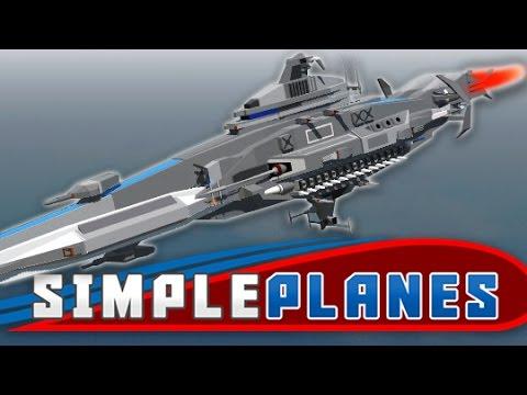 EPIC SPACESHIP! | Simple Planes #25 |