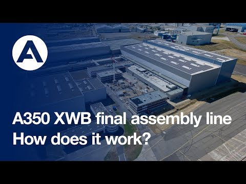 A350 XWB final assembly: a step-by-step overview