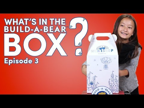 What's In The Build-A-Bear Box?! Ep.3