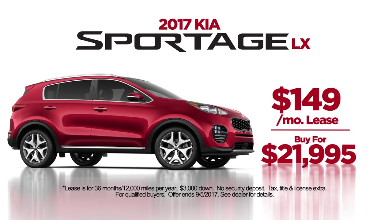 angularfront suv car offers lease red clo listings sportage kia