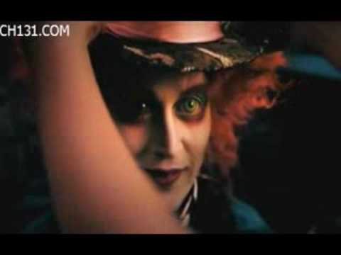 Johnny Depp/Mad Hatter(Alice in Wonderland)- Her name is Alice.