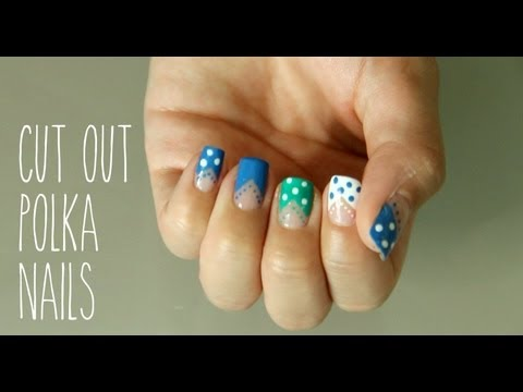 Statement Cut Out Nails