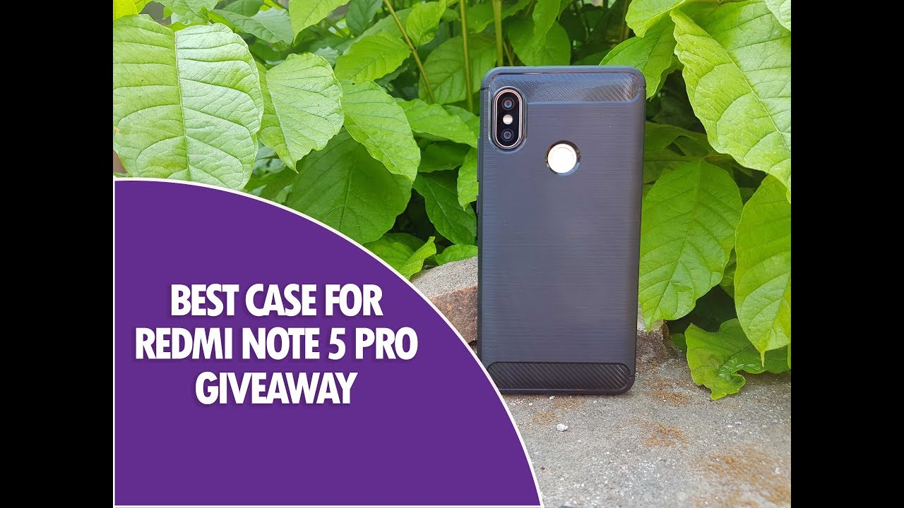 brand new aeeff 5412e Best Redmi Note 5 Pro Case from Case U- #Giveaway