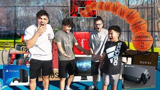 Make the Shot, I'll Buy You Anything Challenge (Kaylen & MindofRez vs FaZe Kay & FaZe Jarvis!)