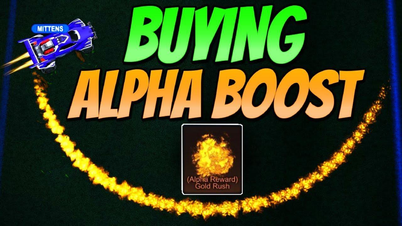 2000 Trade For Alpha Boost So Many Keys Rocket League Gameplay Youtube