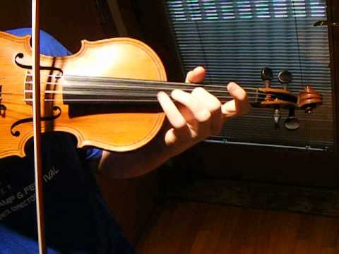 Antique German Violin after Maginni, Seitz Concerto No.3 in G minor, Solo Sound Sample
