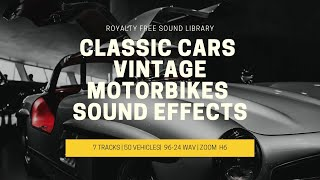 VINTAGE CLASSIC CARS AND MOTORCYCLE SOUND EFFECTS! FREE DOWNLOAD thumbnail