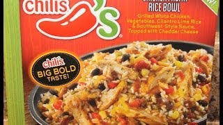Chili's: Chicken Fajita Rice Bowl Food Review