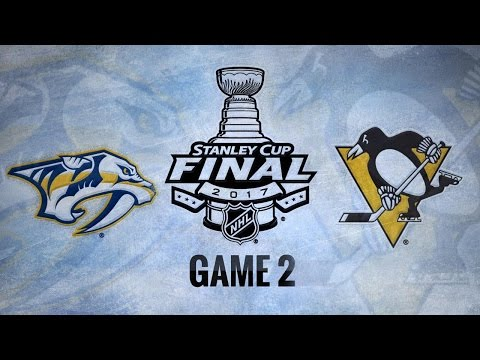 Three-goal 3rd lifts Pens past Preds in Game 2, 4-1