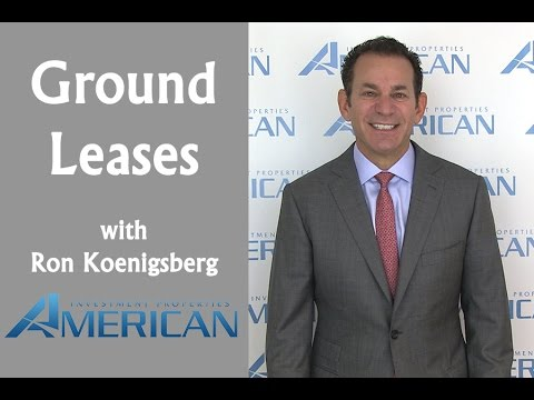 Ground Lease - American Investment Properties