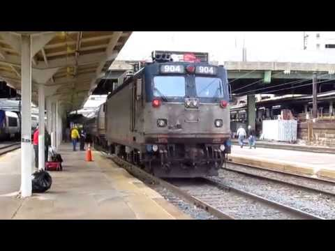 Amtrak Train20 Washington DC Power Change with #72, #118 and #904