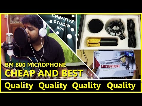bm 800 microphone test