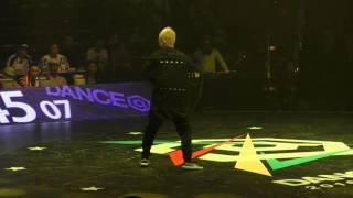SHUHO(TOKYO FOOTWORKZ) vs Hurrikane(UnorthoLaclex) BEST8 HOUSE / DANCE@LIVE 2016 FINAL