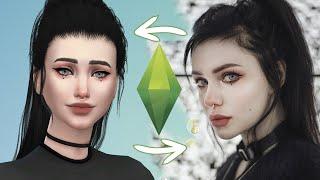 Создаю себя в Sims 4