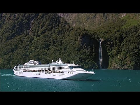 Discover Fiordland National Park by Drone with Princess