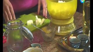 Оригинальный рецепт дыни под сладким маринадом.