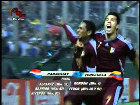 El Gol más Emocionante de LA VINOTINTO (VENEZUELA vs PARAGUAY)