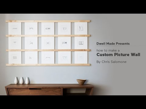 DIY Picture Wall | A Dwell Made Project