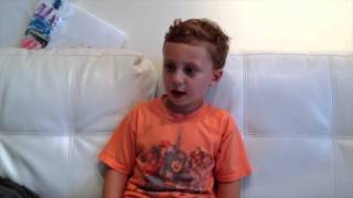 Jack 4 years old singing The NEW Periodic Table Song