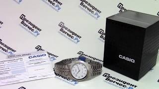 Часы Casio MTP-1129A-7B [MTP-1129A-7BEF] - видео обзор от PresidentWatches.Ru