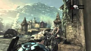 I CAN'T BELIVE I HIT THIS! (Gears of War 2)