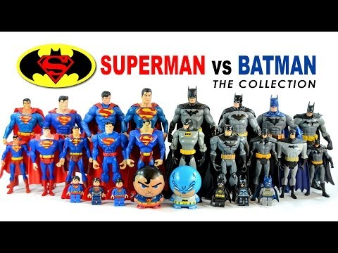 Batman v Superman Action Figure Collection The Man of Steel vs The Dark Knight