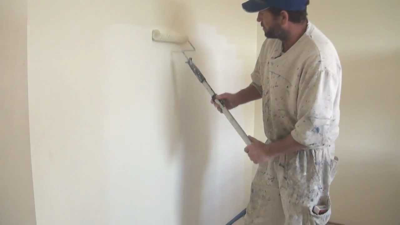 painting plaster wallsHow to paint a wall after a drywall or plaster board repair  YouTube