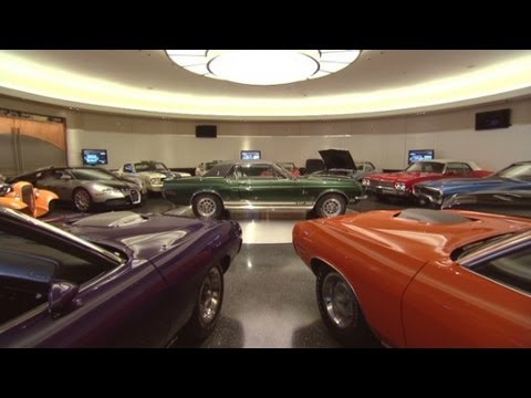 The car collector's ultimate garage - YouTube