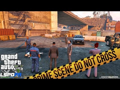 GTA 5 LSPDFR - DETECTIVE WORK - CASE FILE 1 (GTA 5 PC POLICE MODS) Vagos And The Armenians