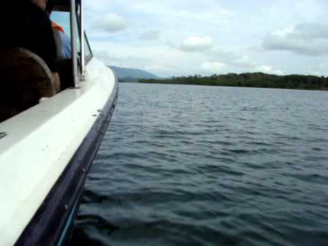 From Bocas del Toro to Almirante Panama by fast Watertaxi