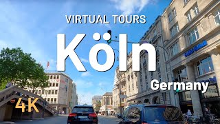 KÖLN / COLOGNE driving tour 🇩🇪 Germany 4K Video Tour Köln