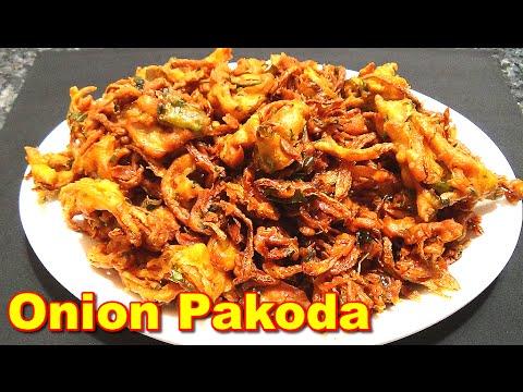 Onion Pakoda Recipe In Tamil ஆன யன பக ட Youtube