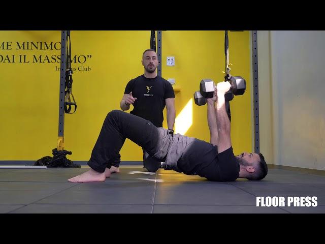 Floor press. Esecuzione e tecnica
