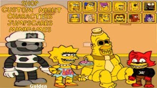 Fun Times at Homer's ALL ANIMATRONICS | EXTRAS