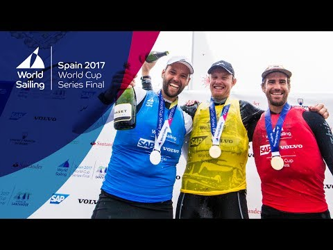 Day 6  LIVE World Cup Series Final Santander  Sunday Medal Races