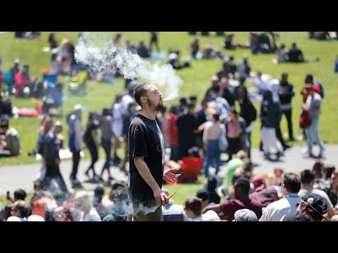 How 4/20 was celebrated in San Francisco with legal recreational marijuana for the first time