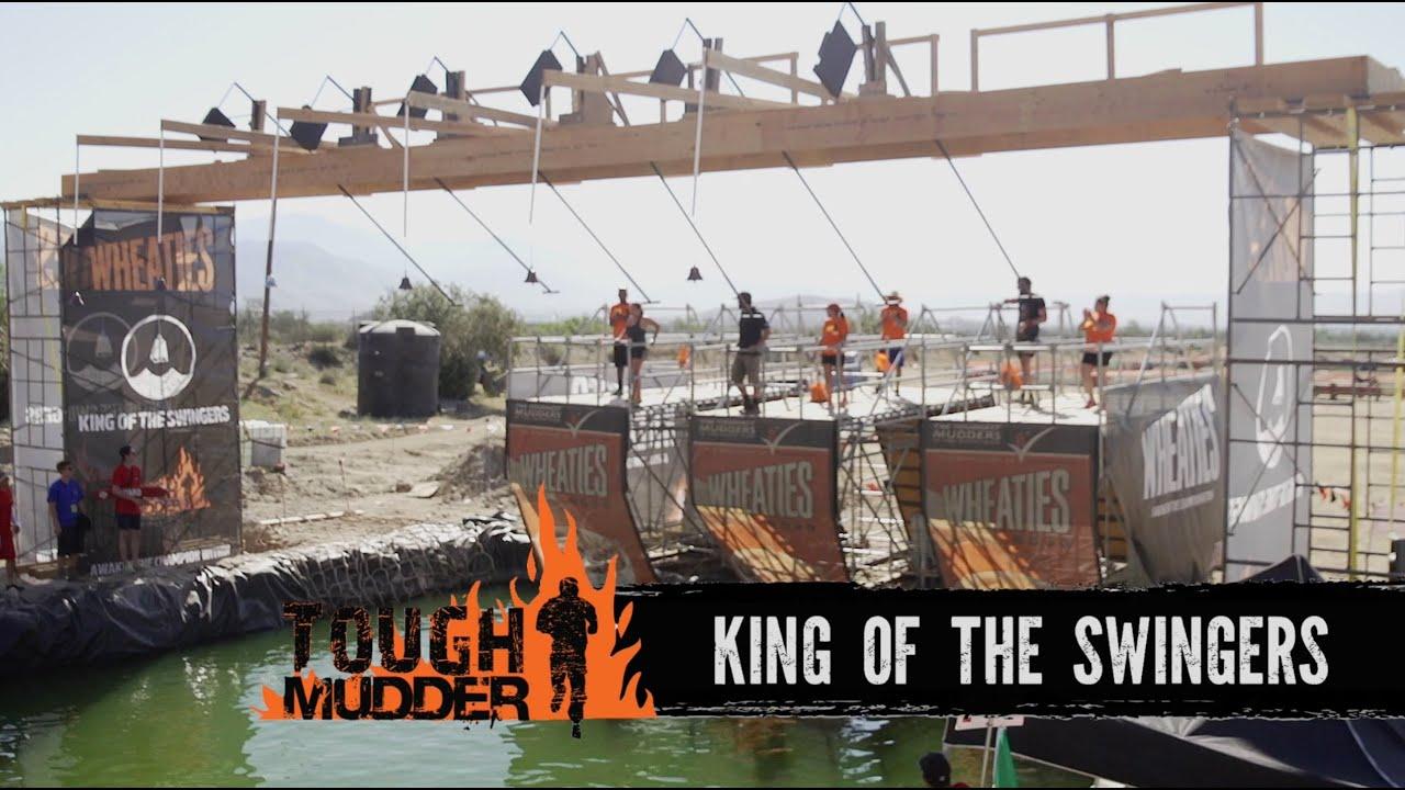 Scott Keneally, King of the Swingers - Tough Mudder