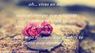 YOU SANG TO ME ❤ MARC ANTHONY ❤  letra en español  ❤