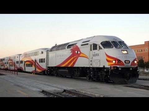 New Mexico Rail Runner Express Train