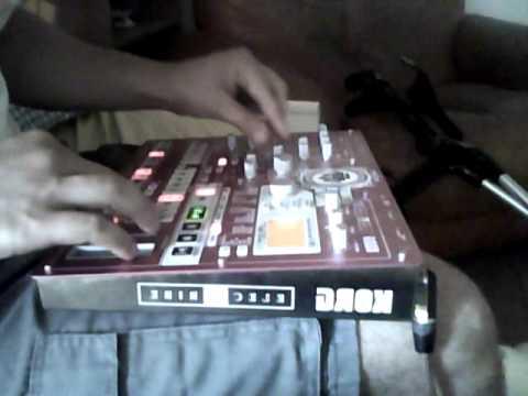 korg esx tekno live improvisation