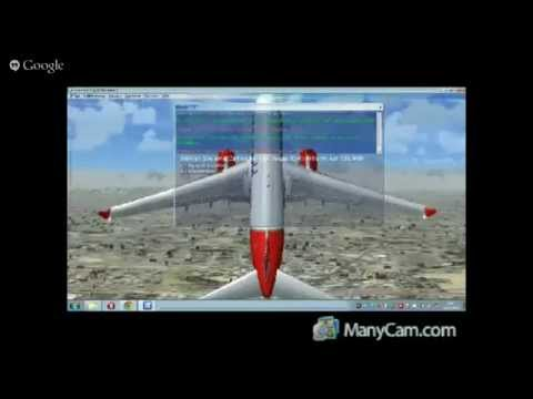 FSX HD flight AREA 51 to Las Vegas to Los Angeles