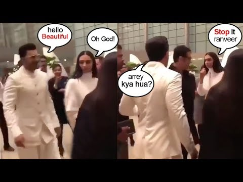 Ranveer Singh Deepika Padukone FIGHT Before WEDDING Day While leaving for Italy Mp3